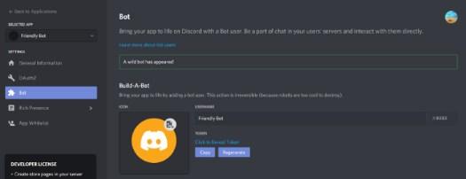 Discord register bot