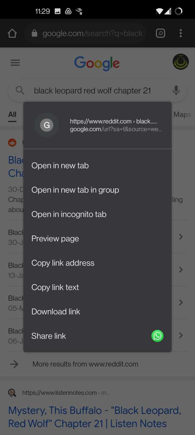 Once you've tweaked these two flags, Chrome will open links in a new tab instead of a grouped tab, and bring back the option to open links in a new tab