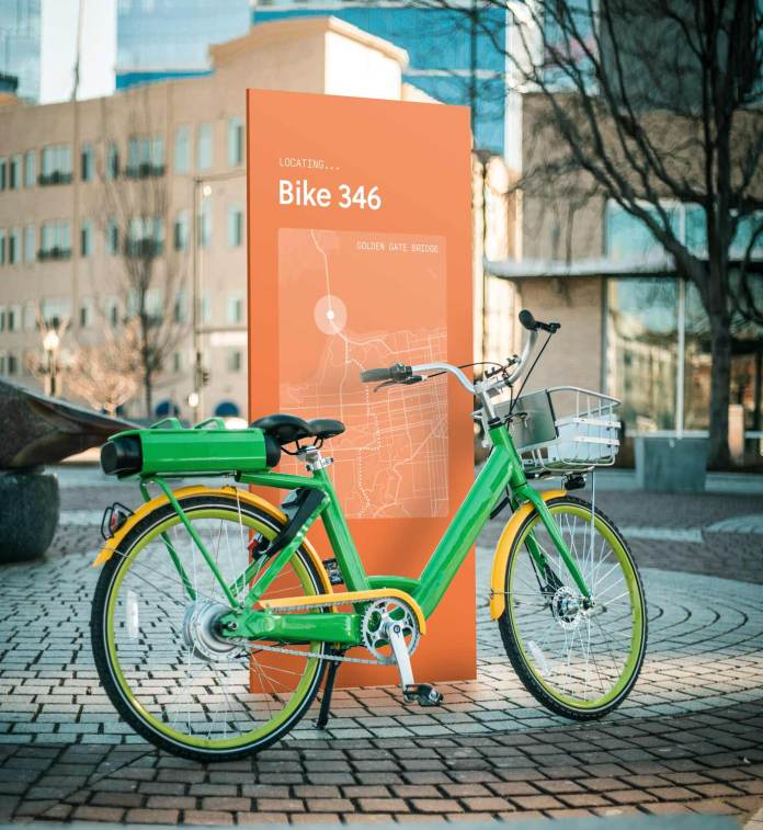 Helium tracks lime bikes and scooters