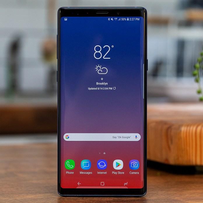 Samsung Galaxy Note 9 Review More Of Everything The Verge