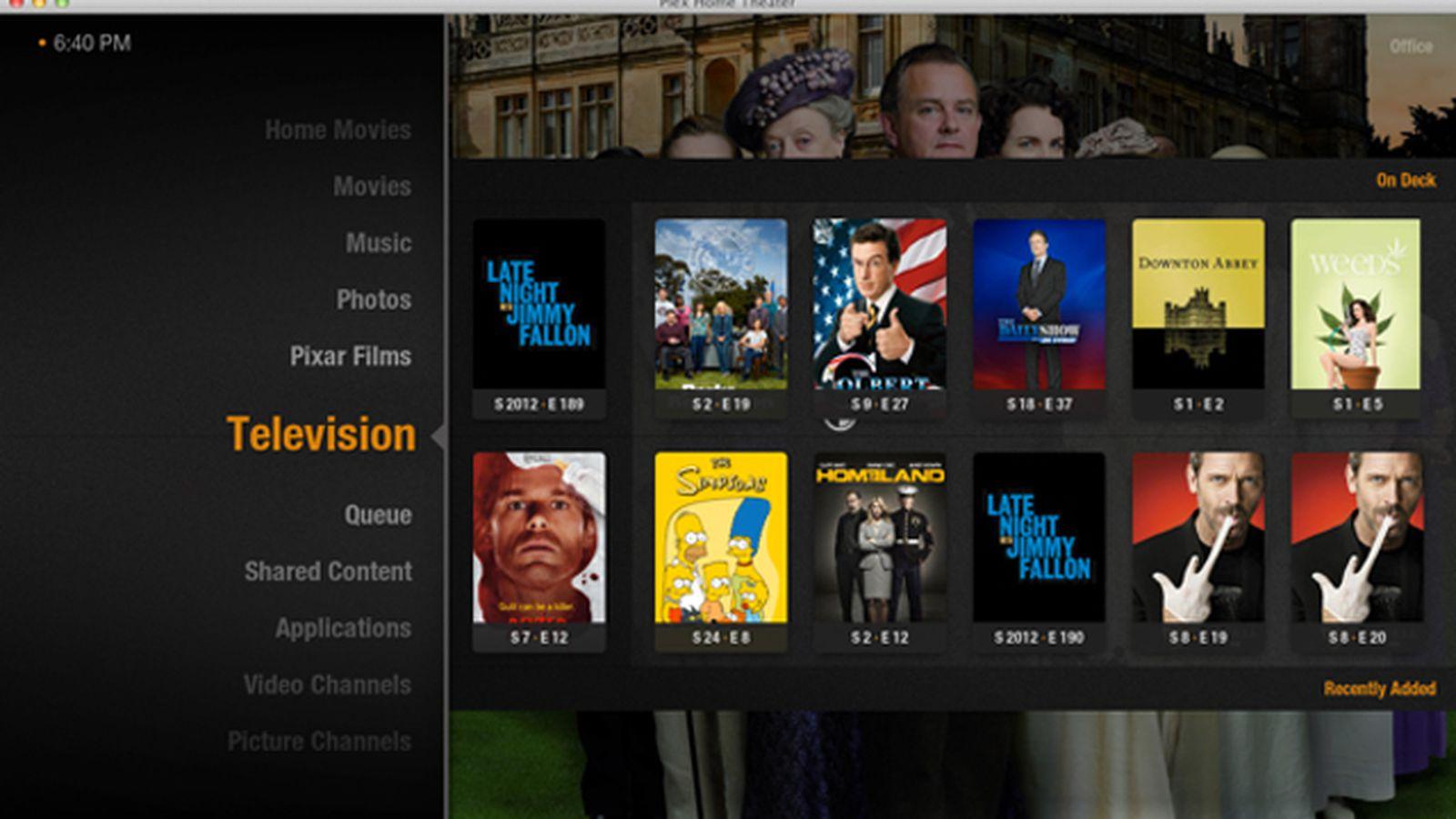 3d Server Wallpaper Plex Desktop App Rebranded As Plex Home Theater Adds