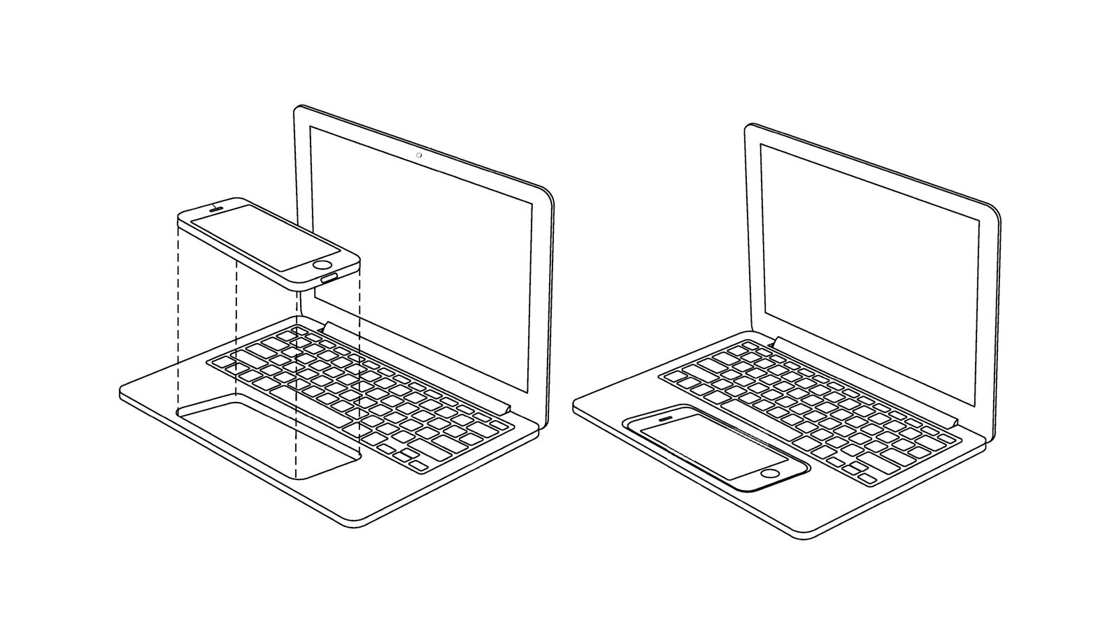 Apple imagines turning an iPhone or iPad into a