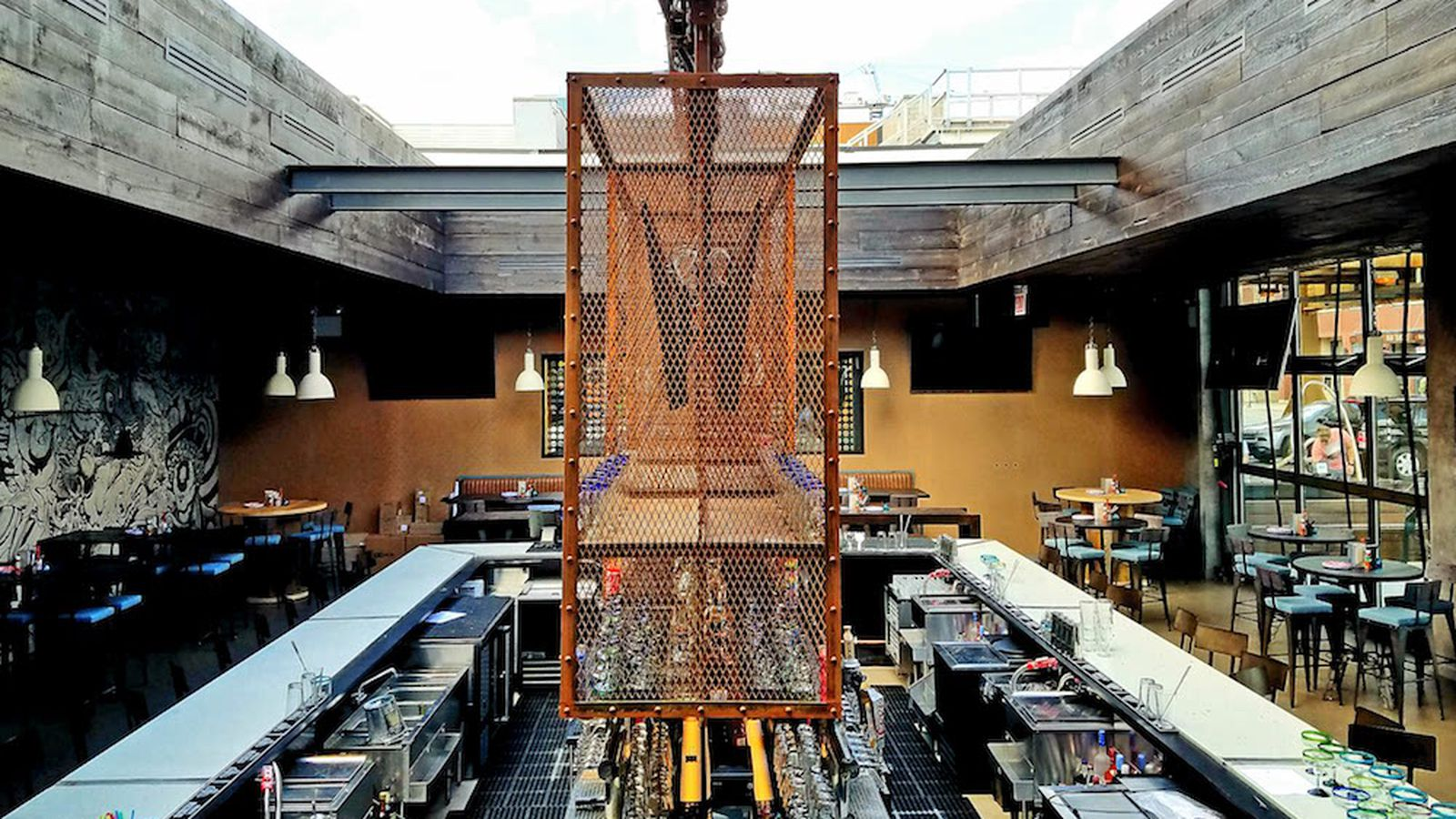 West Loop Welcomes Federales Tacos  Retractable Roof Today  Eater Chicago