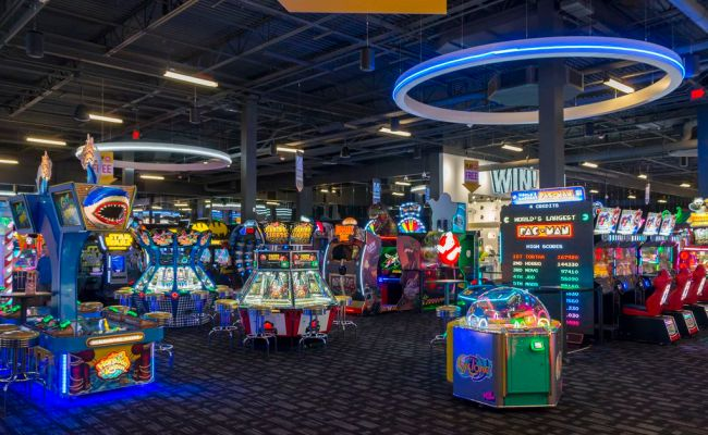 Your First Look Inside Dave Buster S Opening On Monday