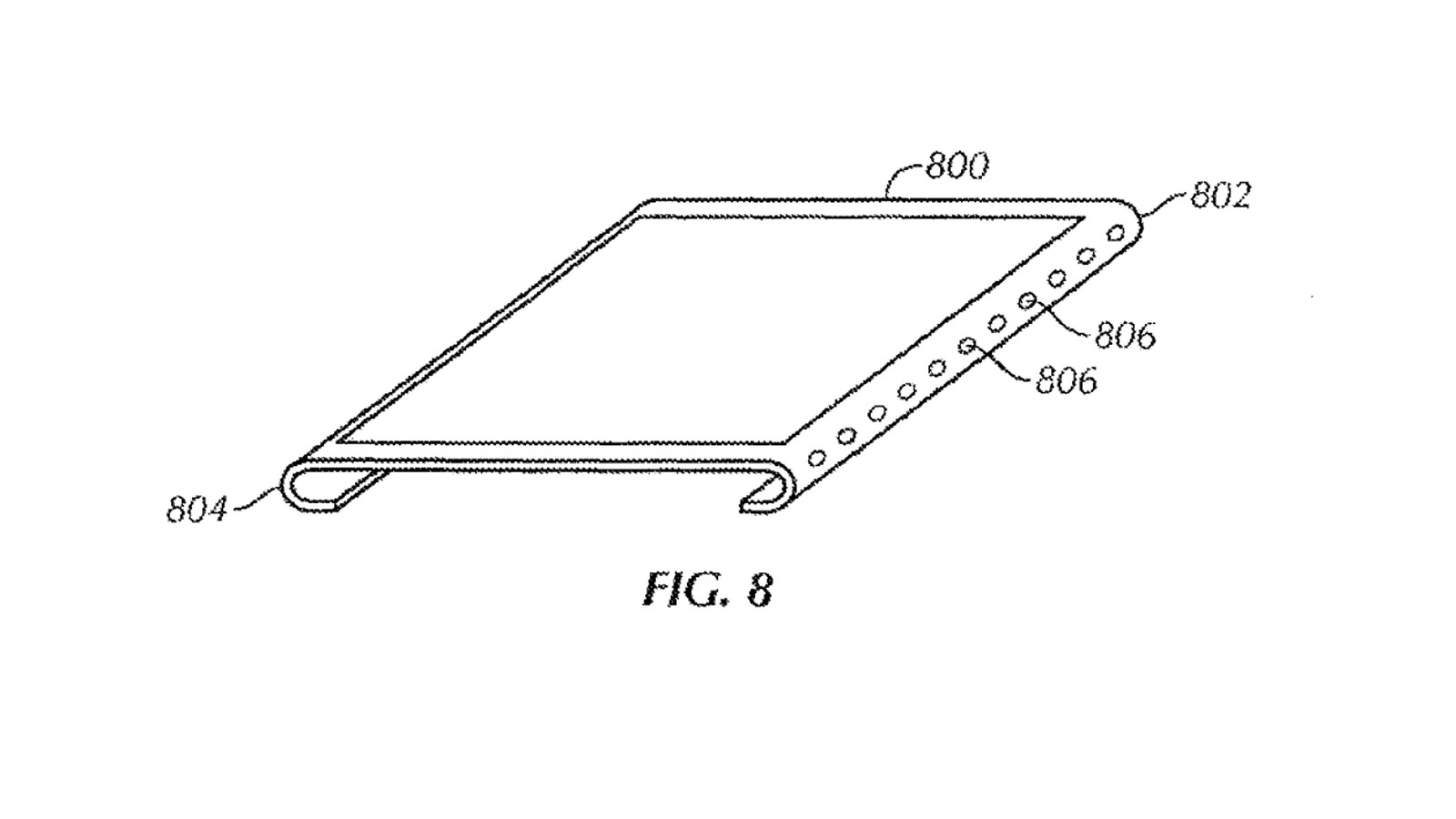 Apple granted patents on a curved bezel-free screen and