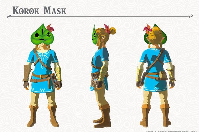 The Legend of Zelda: Korok Mask