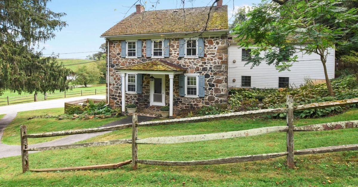 5 Really Old Stone Homes For Sale In Pennsylvanias