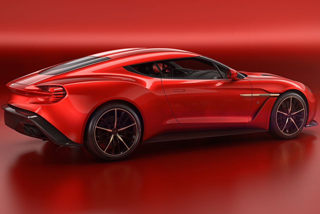 Aston Martin's Most Beautiful Car In Years Is The Vanquish