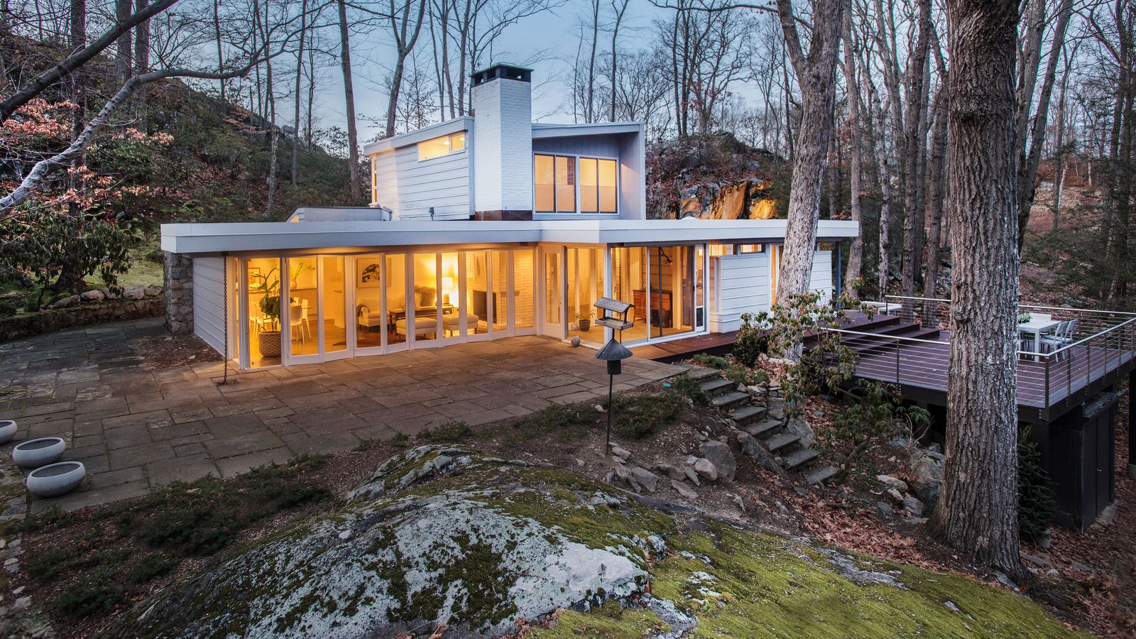 Midcentury Hilltop Jewel Box With Lake Views Asks 800K
