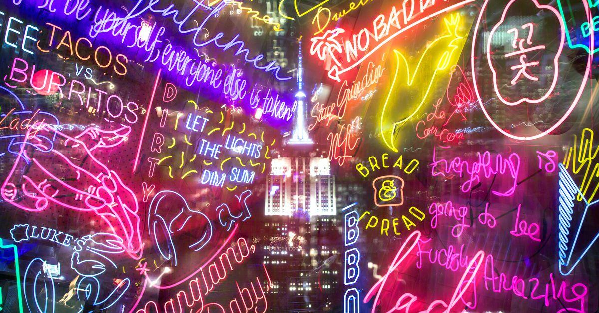 The Triumphant Return of New York Neon  Eater NY