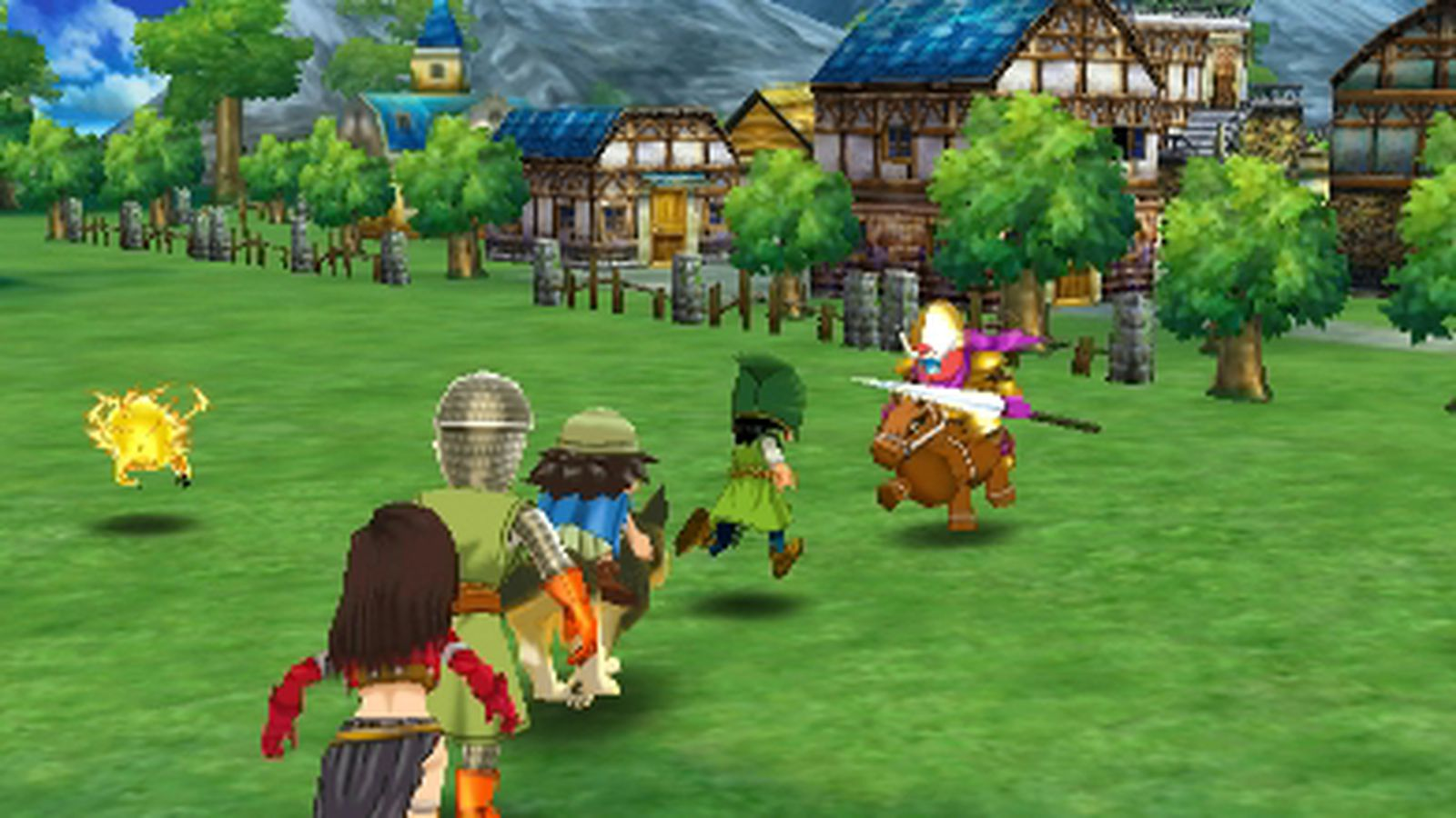 Dragon Quest 7 3ds Fliegender Teppich Watch 14 Minutes Of Gameplay From Dragon Quest 7