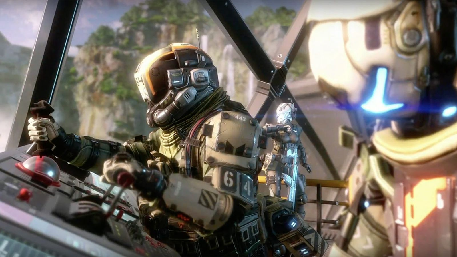 Iphone Six Fall Wallpaper Titanfall 2 Launches Oct 28 Comes With Offline Single