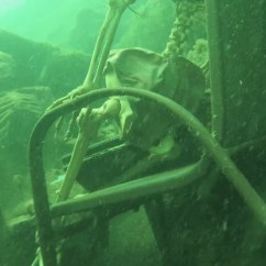 Lawn Chairs Tmnt Saucer Chair Underwater Skeleton Tea Party Discovered By Arizona Snorkeler - The Verge