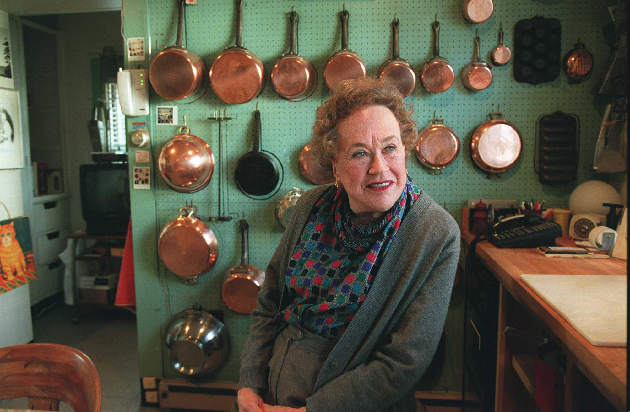 This is Julia Childs kitchen See why its perfect  Vox