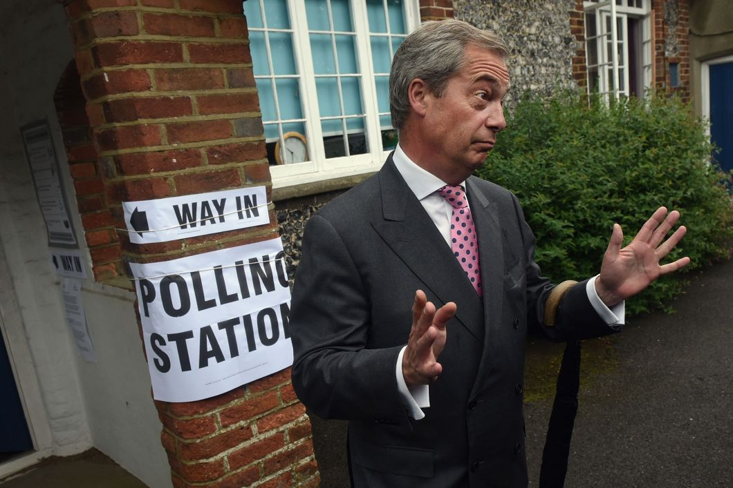 Political Leaders Vote In The EU Referendum Result