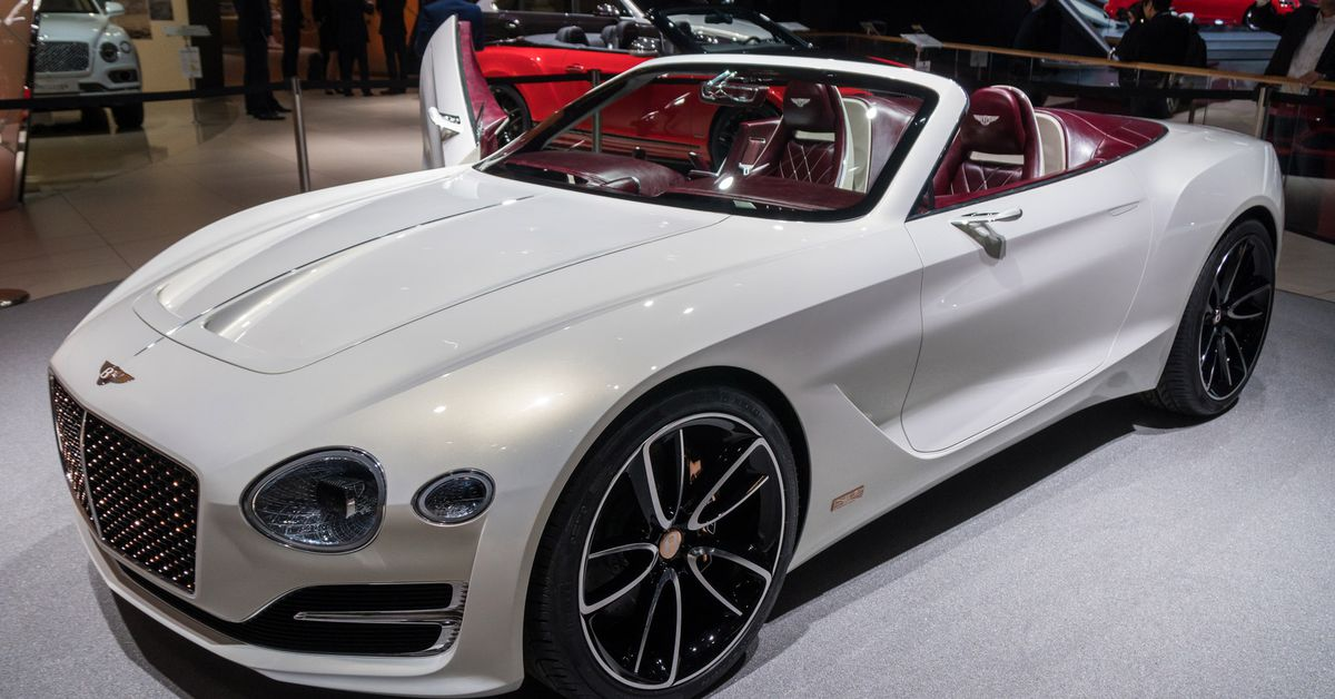 Bentley Challenges Tesla S Idea Of Electric Luxury With A Gorgeous New Concept Car The Verge