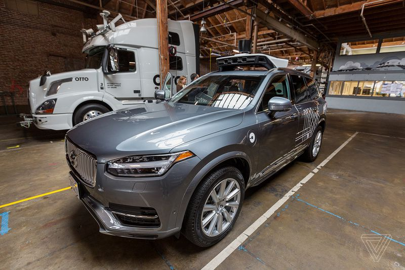 Uber teams up with Mercedes-Benz's for more self-driving cars/Volvo