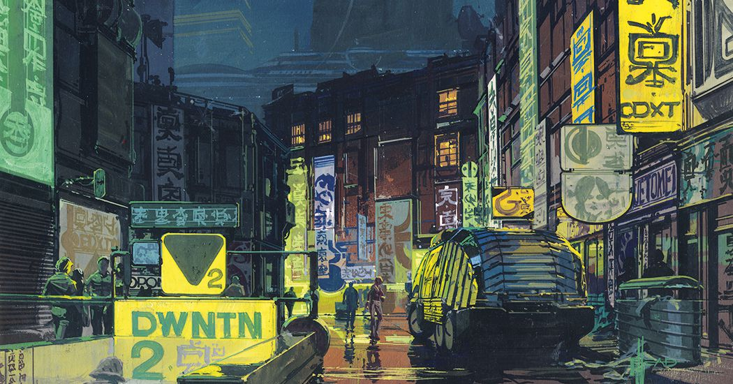 Inside Syd Meads Visions Of The Future From Blade Runner