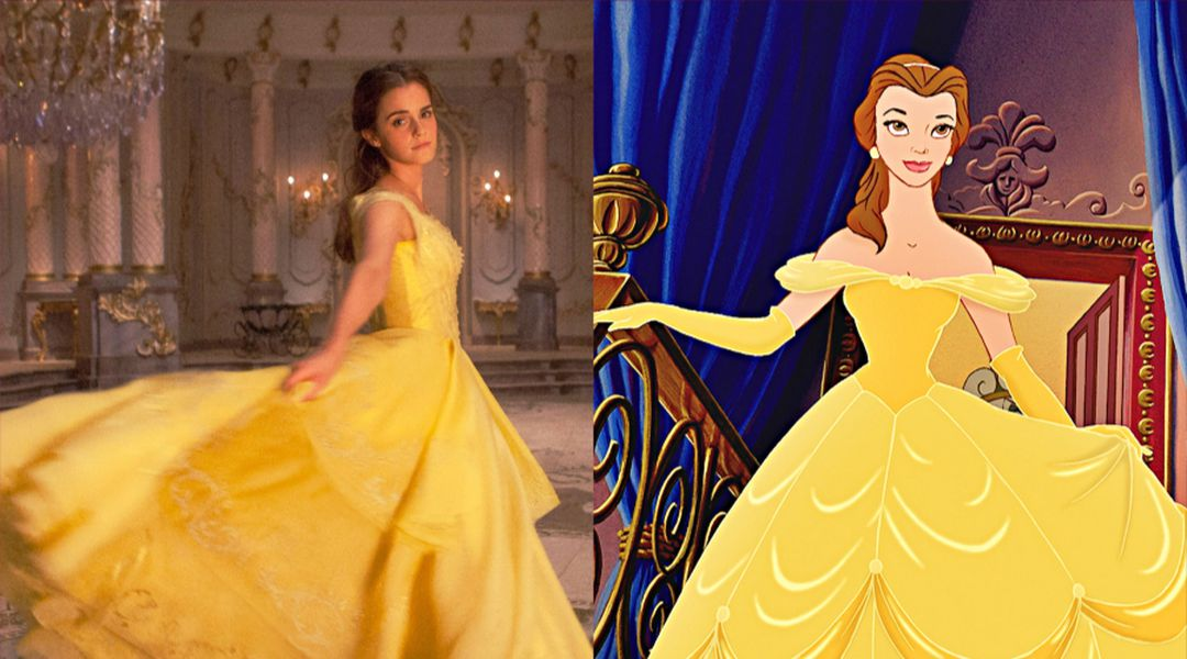 Belle's Costumes Don't Fit The Live-action Beauty And The