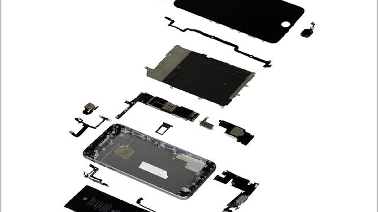 iphone 4 disassembly diagram ion thruster teardown shows apple 39s 6 cost at least 200 to