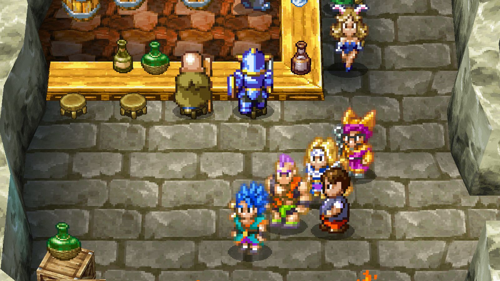 Dragon Quest Vi Fliegender Teppich Dragon Quest 6 Comes To Android And Ios Polygon