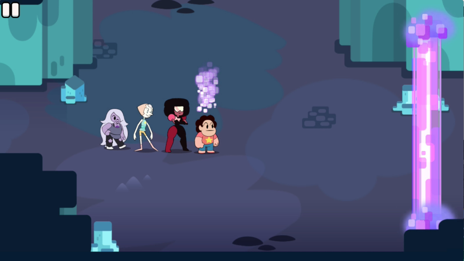 You should play the Steven Universe game  Polygon
