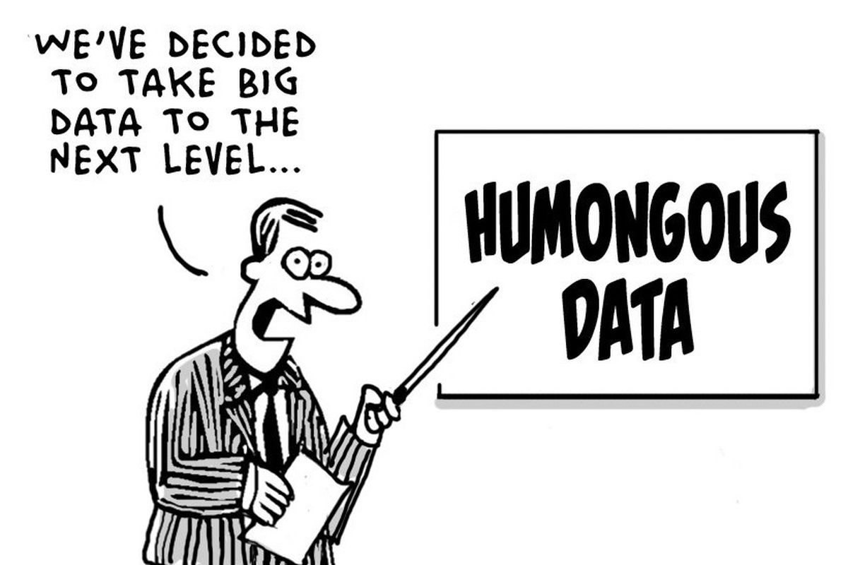 We all thought having more data was better. We were wrong
