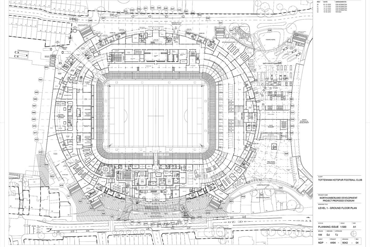Tottenham Stadium Details Emerge On Haringey Council