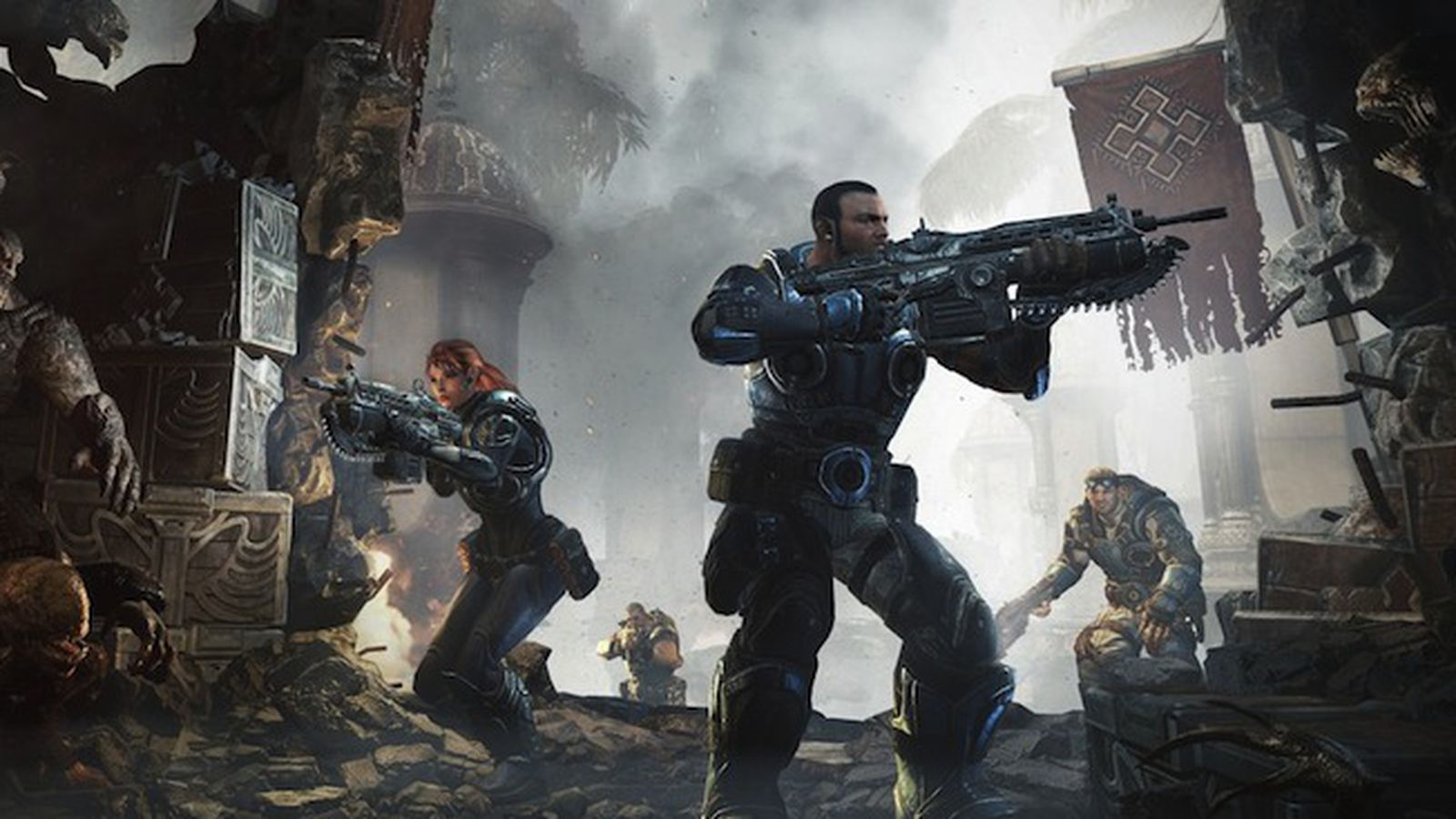 Gears Of War Judgment Pre Order At Walmart Includes