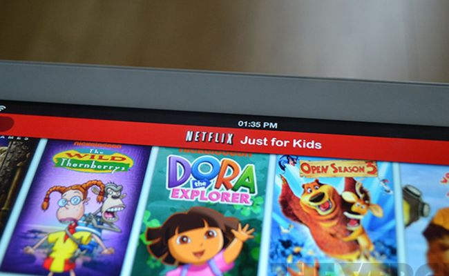 Netflix Adds Just For Kids Mode To Ipad App To Make