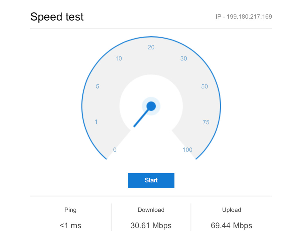 Bing S Speed Test Widget Is A Neat Solution To A Common
