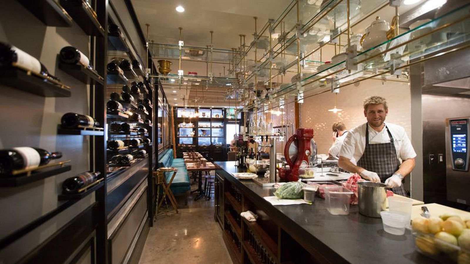 Jonathan Gold Seems to Have Mixed Feelings about Curtis Stones Maude  Eater LA