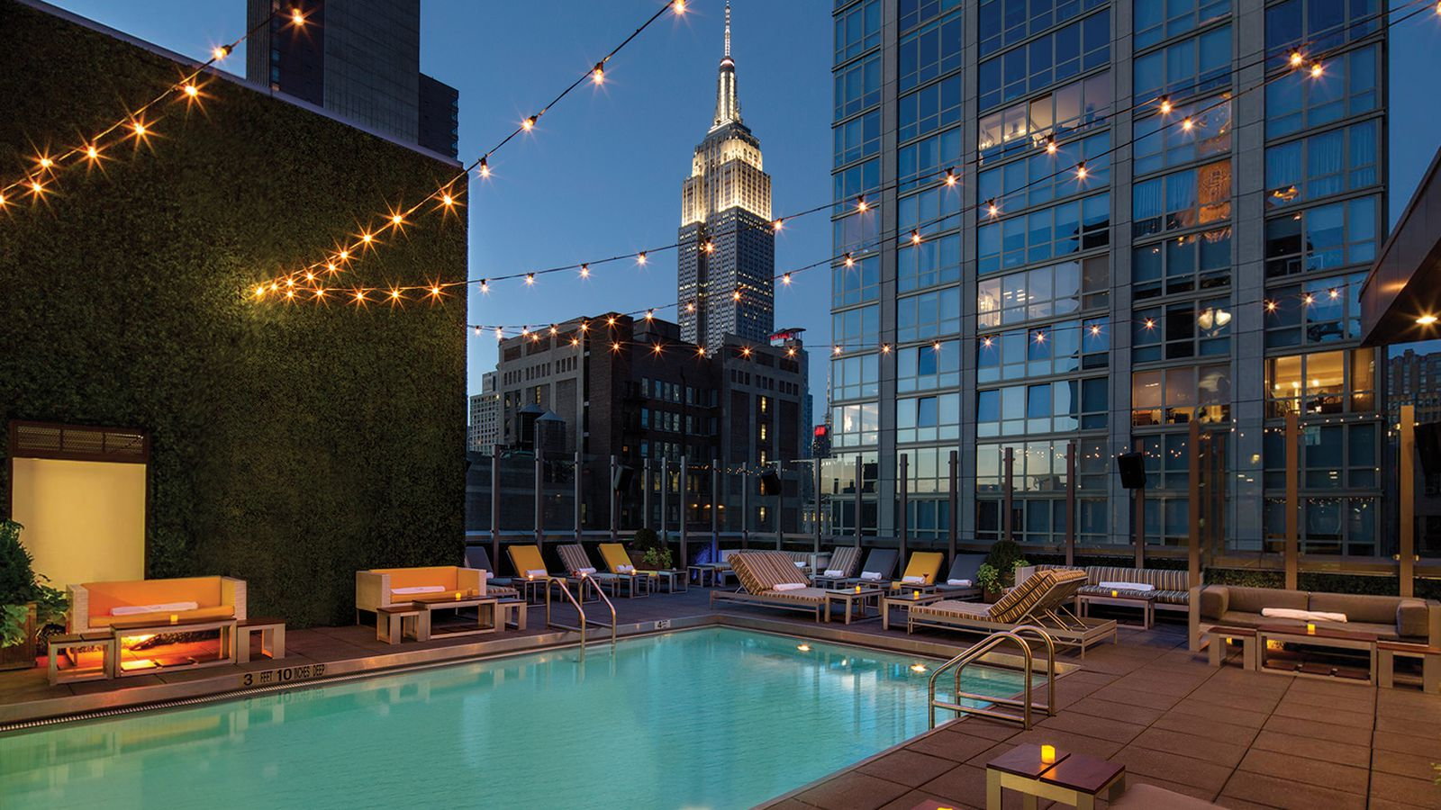 The best NYC hotels with rooftop and indoor pools  Curbed NY