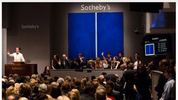 Blazers Owner Paul Allen Sells Painting Sotheby'