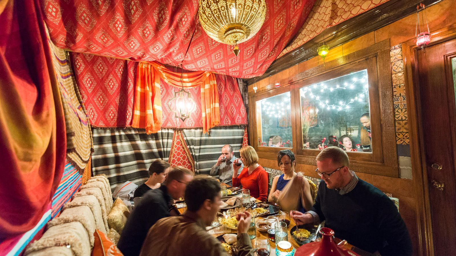 Go Inside the Bedouin Tent A New Dining Experience at