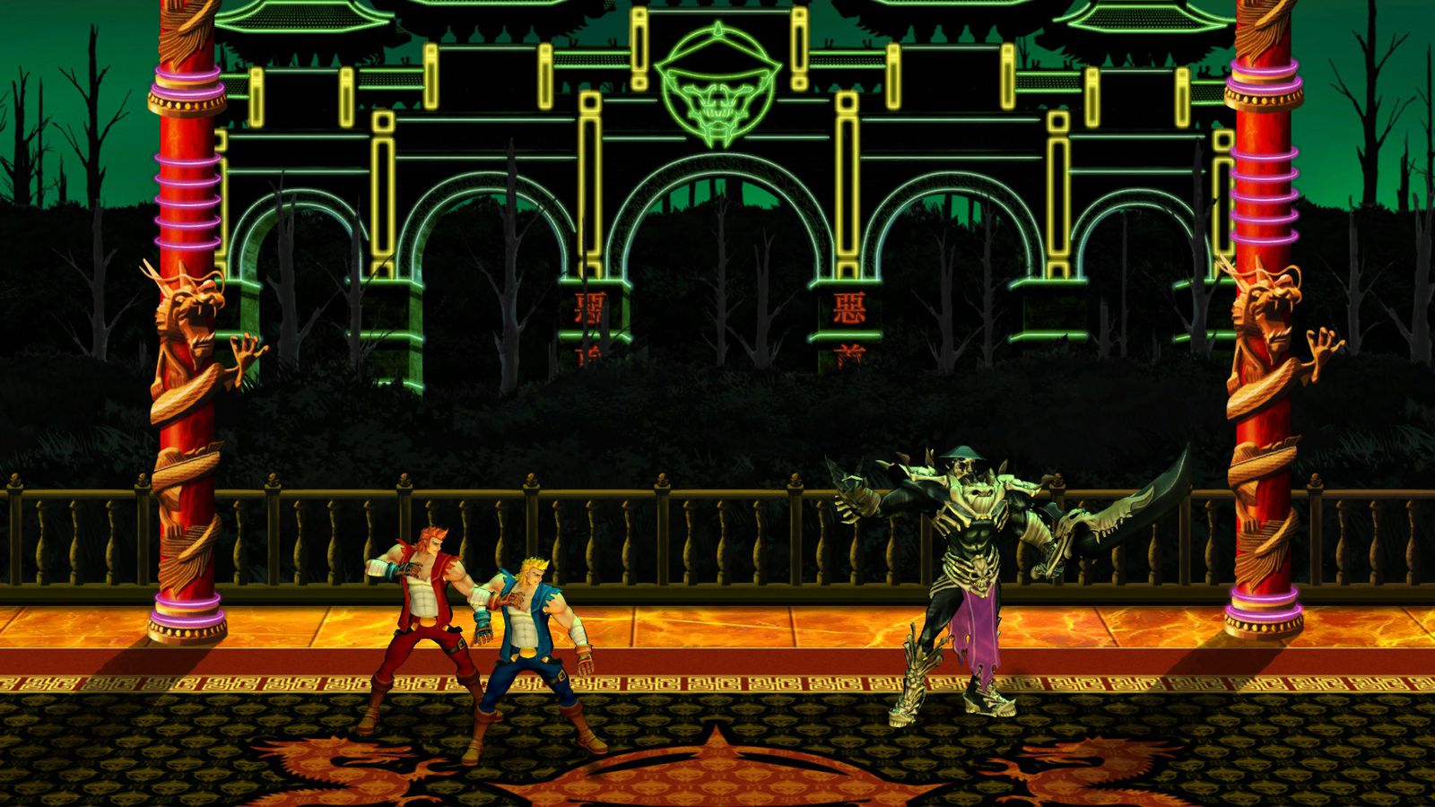 Double Dragon Neon launching today on Steam with online co