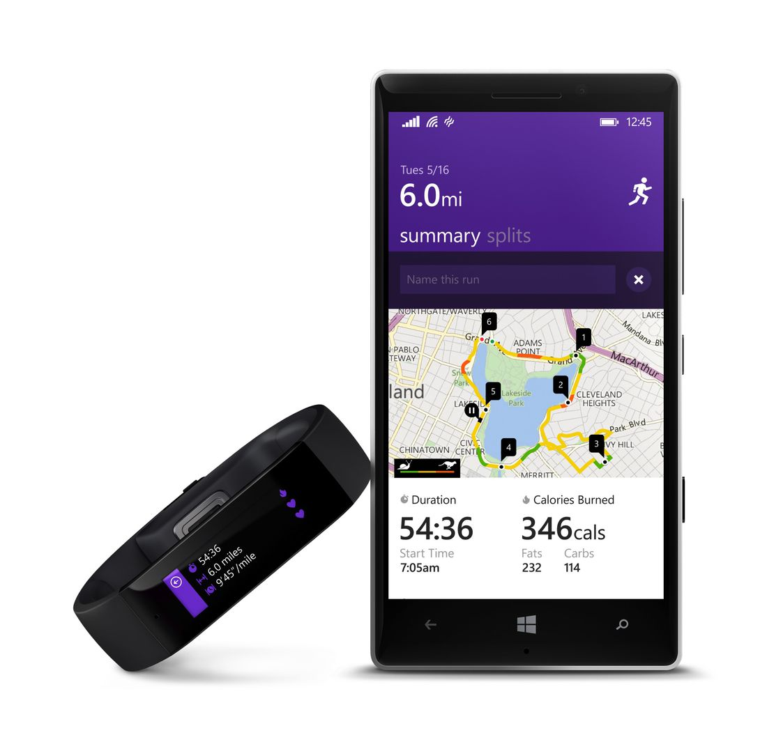 Microsoft Band pictures