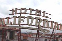 Hotel California Neon Sign