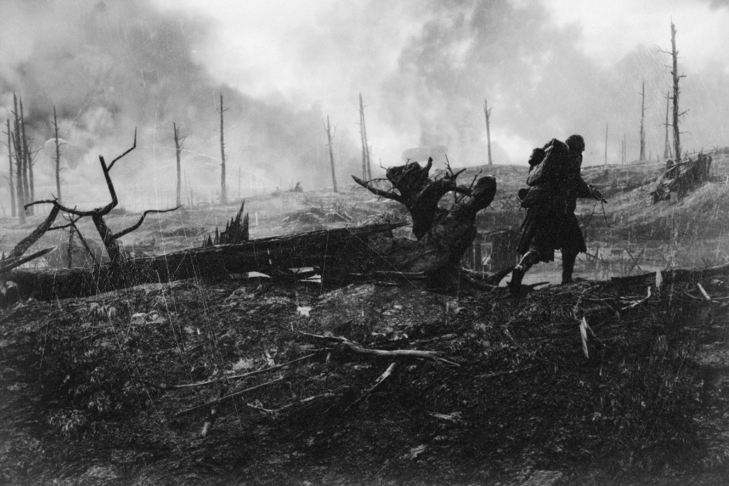 Battlefield 1 In The Style Of First World War Photography