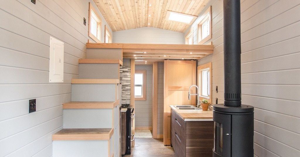 Tiny house goes offgrid with big amenities  Curbed