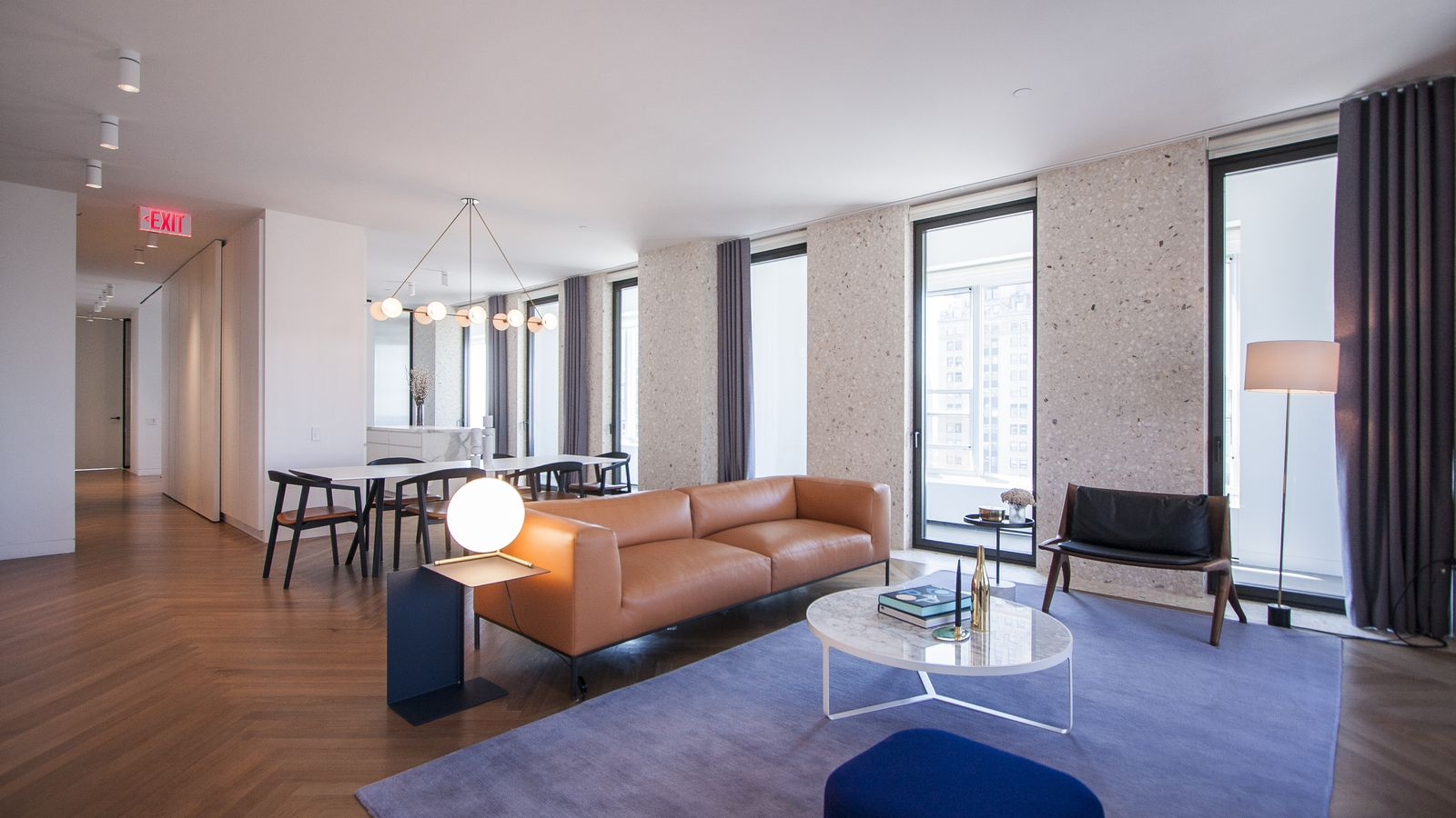 Inside the Model Unit for David Chipperfields TerrazzoClad Midtown Condo  Curbed NY