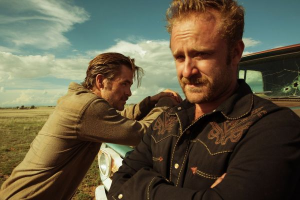 Chris Pine & Ben Foster in Hell or High Water