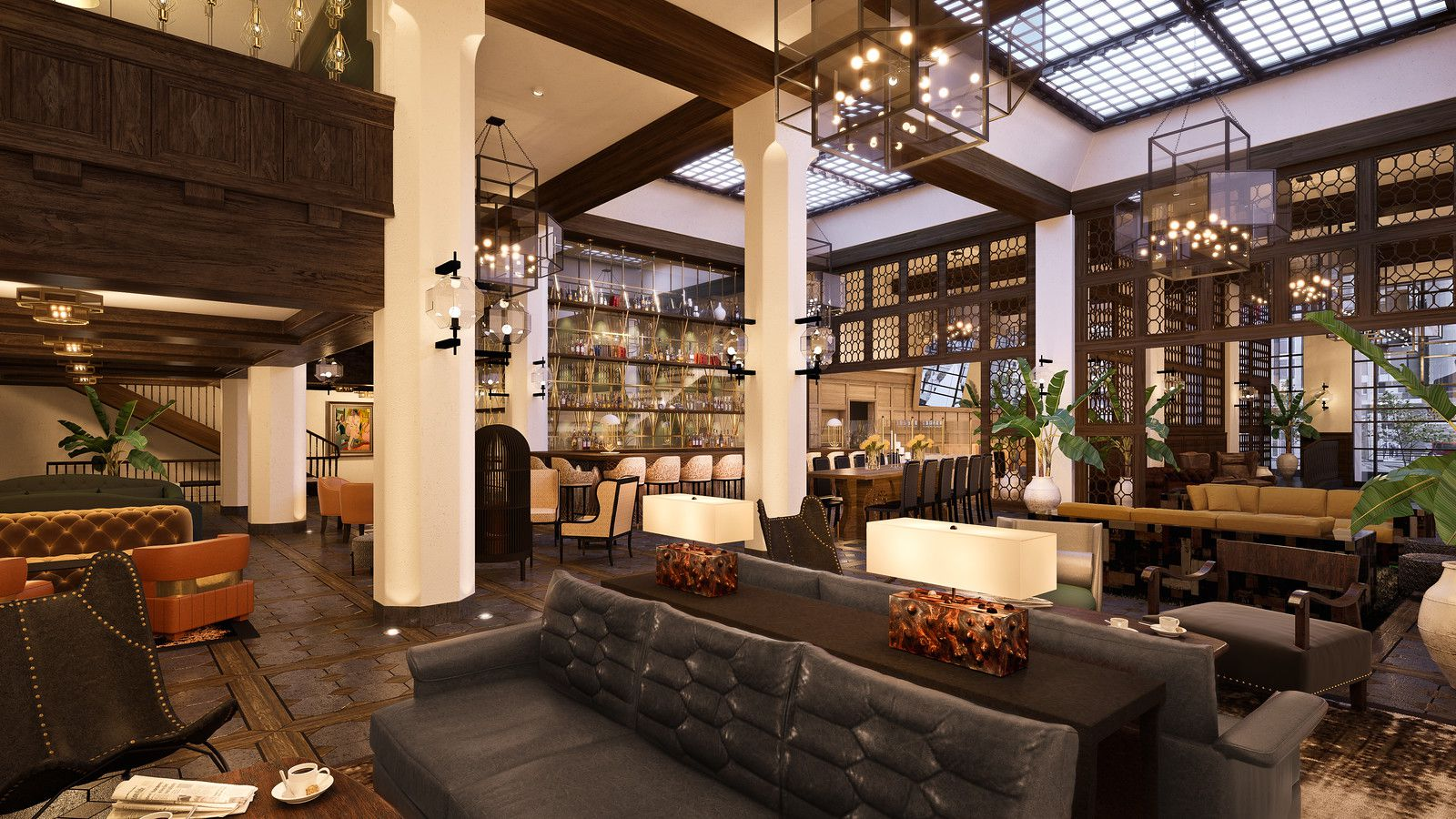 Everything to Know About Hotel Figueroas Massive Dining