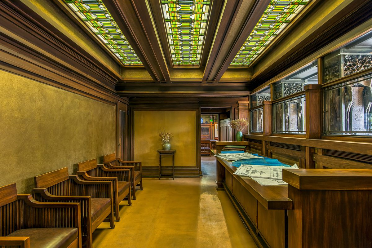 Frank Lloyd Wright Furniture Designer
