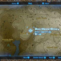 Zelda Breath Of The Wild Guide Mozo Shenno Shrine