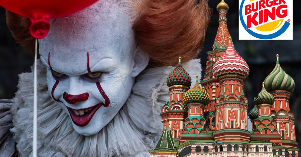 Burger King Russia Files Complaint Over Pennywise The