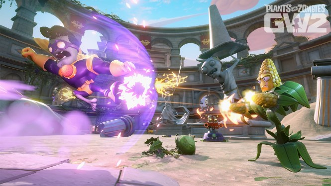 Plants Vs Zombies Garden Warfare 2 Is A Tower Defense Third Person Shooter Single And Multiplayer Video Game Developed By Popcap Games Published