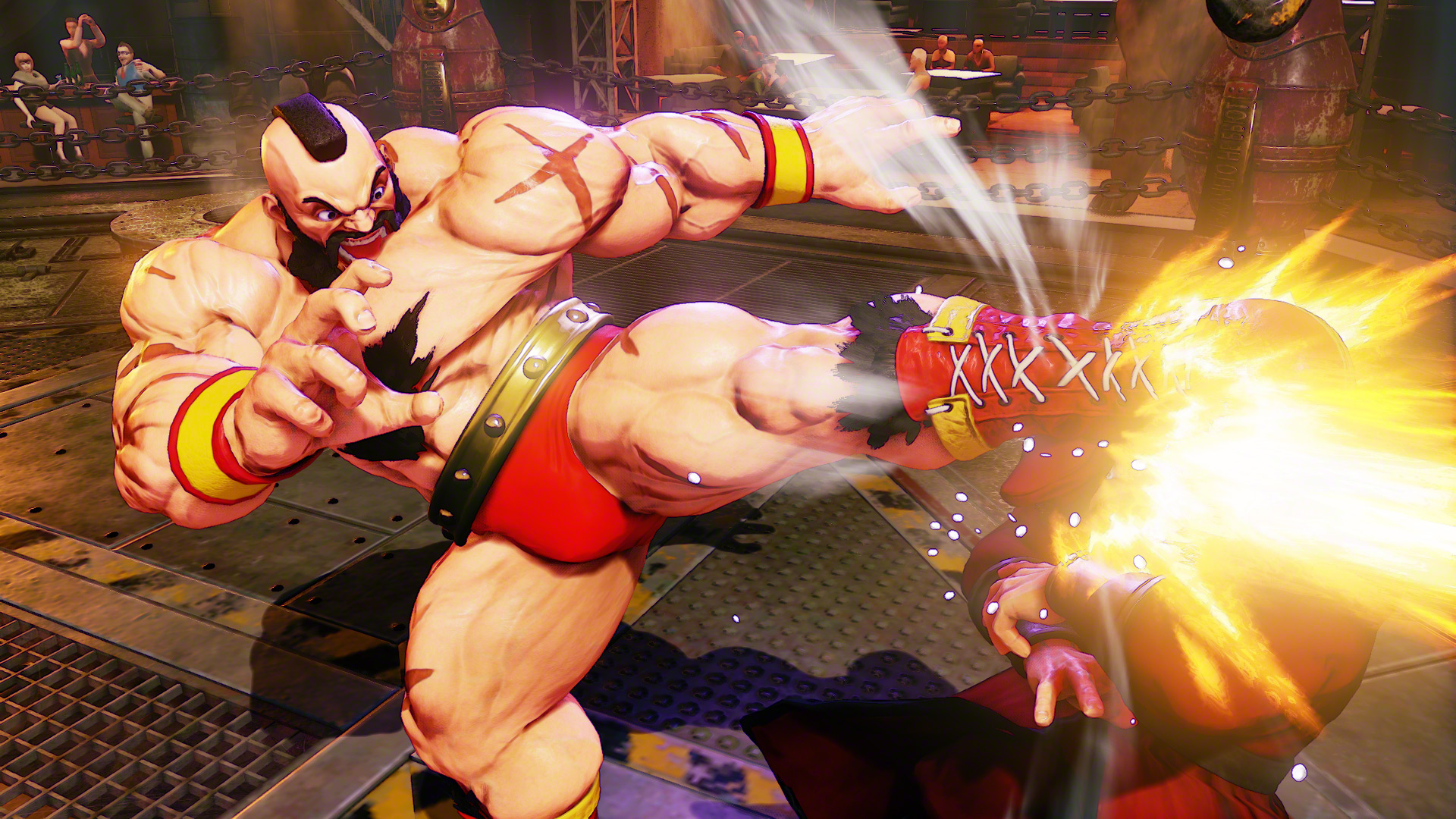 Zangief Is Coming Back For Street Fighter 5 Polygon