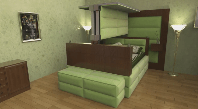 These earthquakeproof beds will bury you alive in comfort