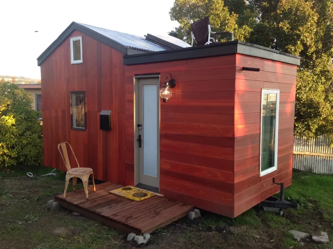 kitchen designer portland oregon stainless steel island 8 tiny homes you can rent right now - curbed